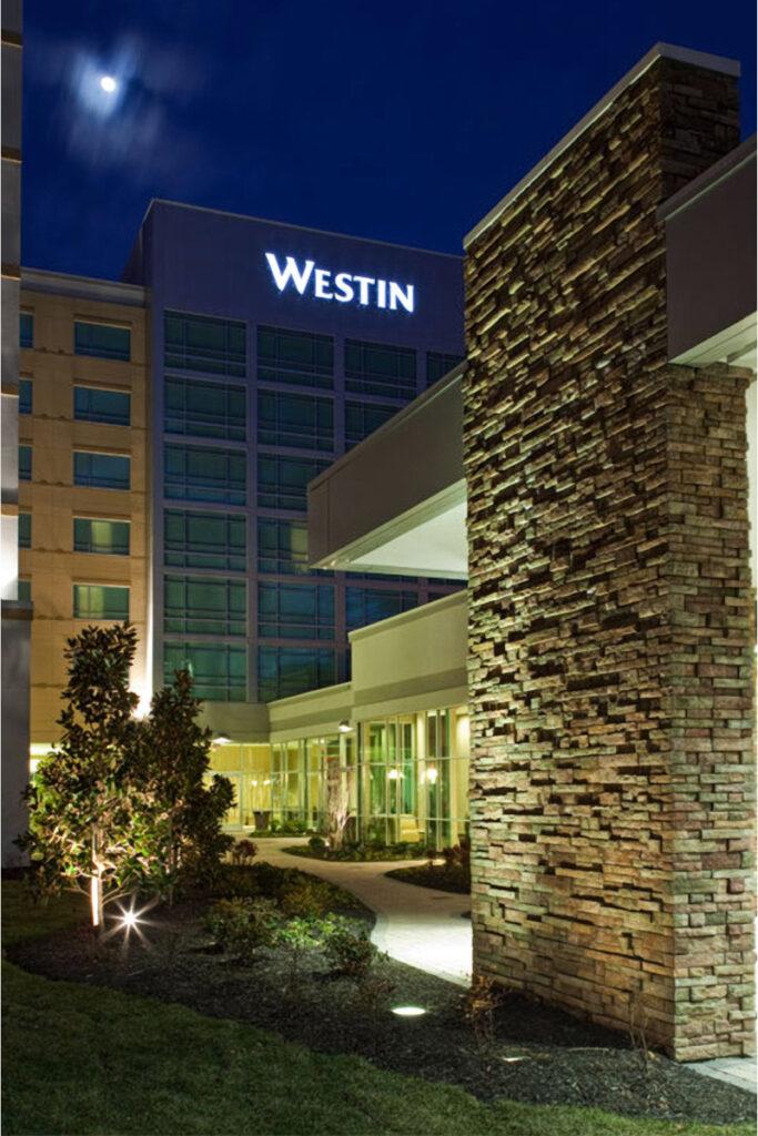 The Westin Hotel Backyard